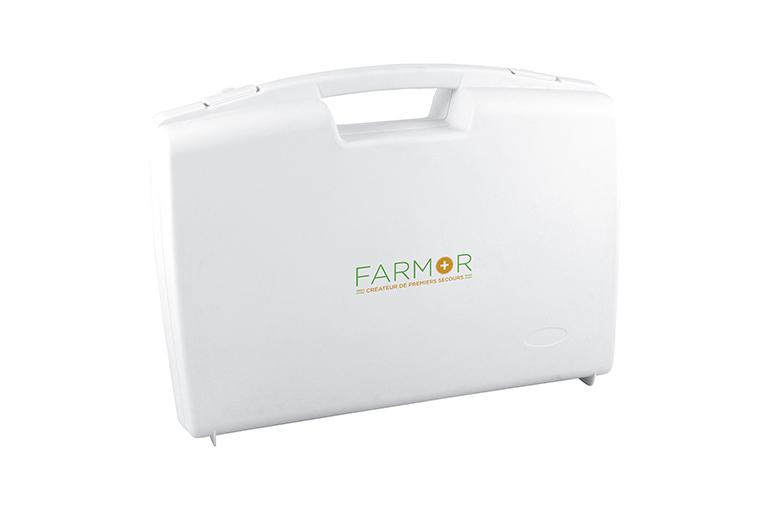FARMOR-Valise de secours 320 mm x 280 mm x 119 mm-VAL2051PV xzF4lz