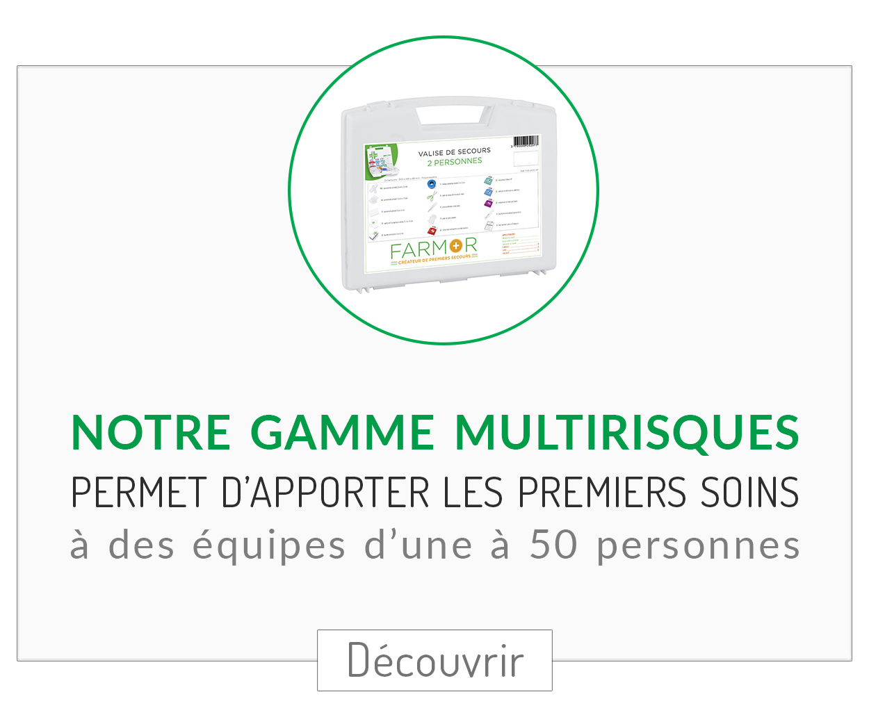 Gamme multirisques